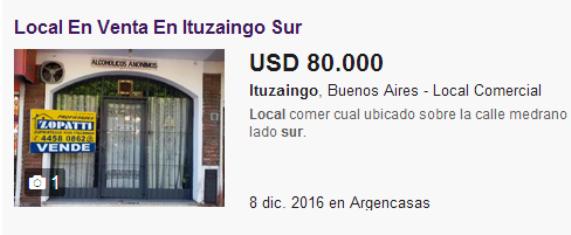 Mise en vente du local loué par le groupe AA, par le propriétaire du bien (AA se refuse à toute propriété immobilière)