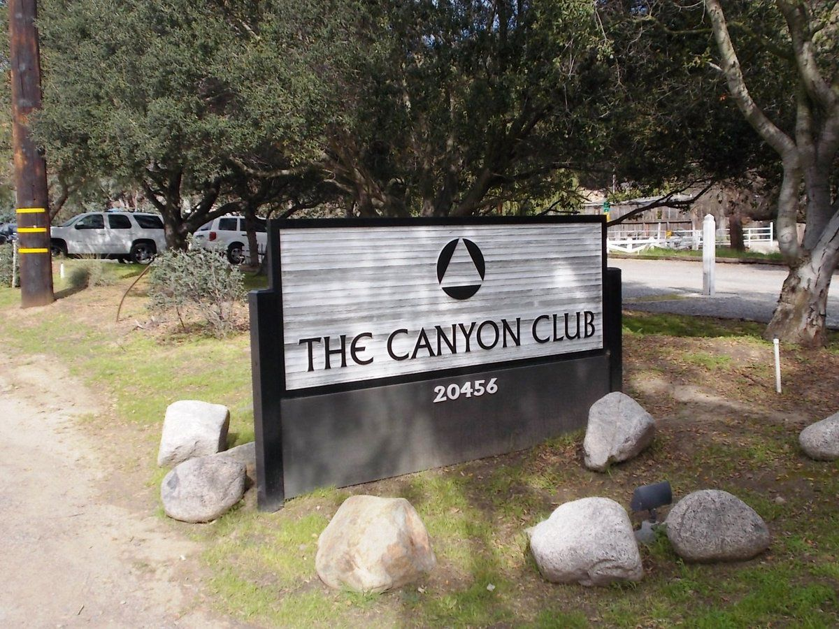 USA, CA, laguna beach : the CANYON CLUB