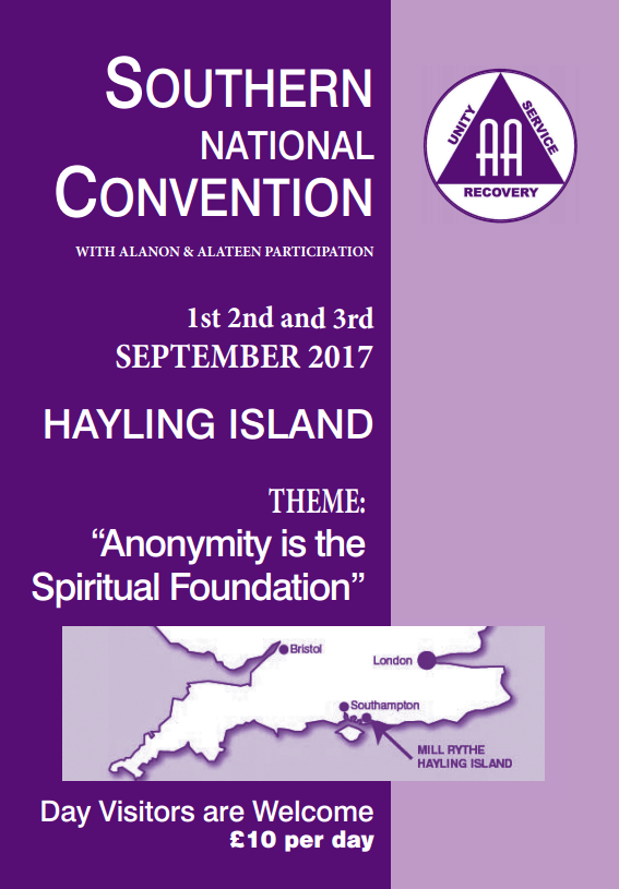 GRANDE-BRETAGNE : Southern National Convention of AA 2017