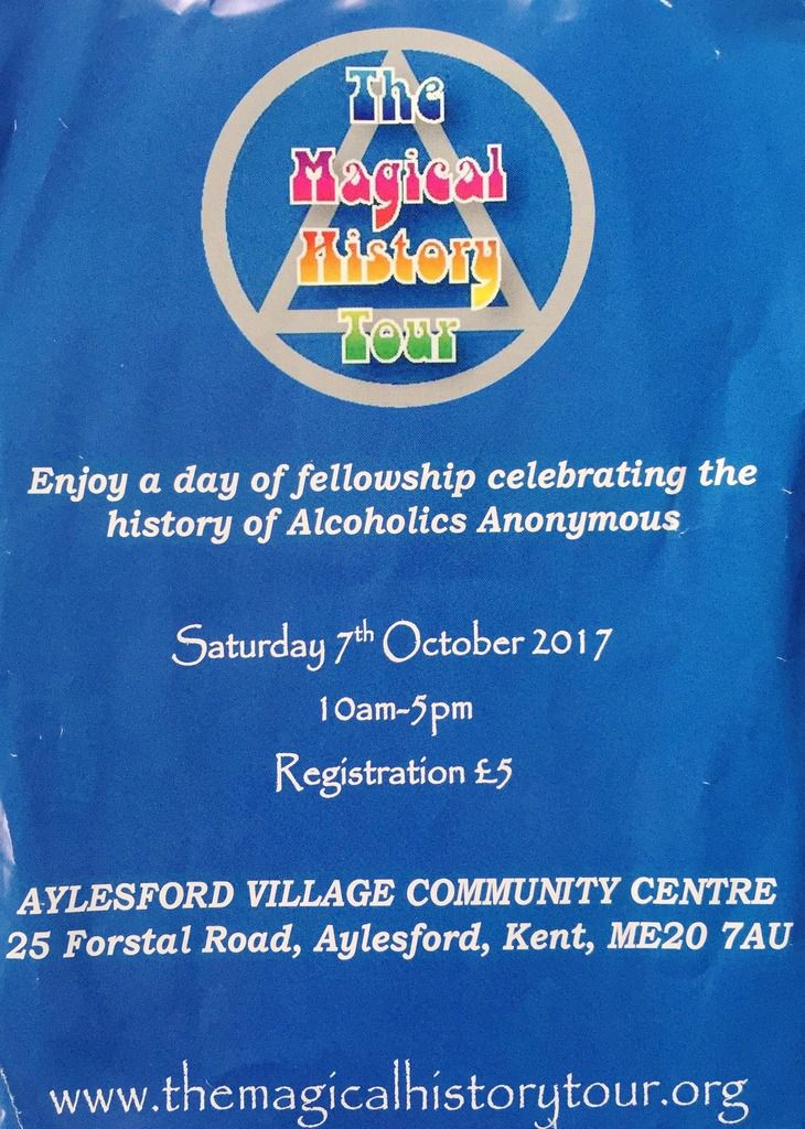 A History Tour of Alcoholics Anonymous