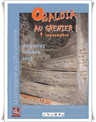 AU GRENIER ! 4 impromptus d'Obaldia