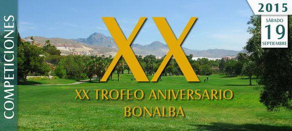 20ème anniversaire du club de Bonalba !