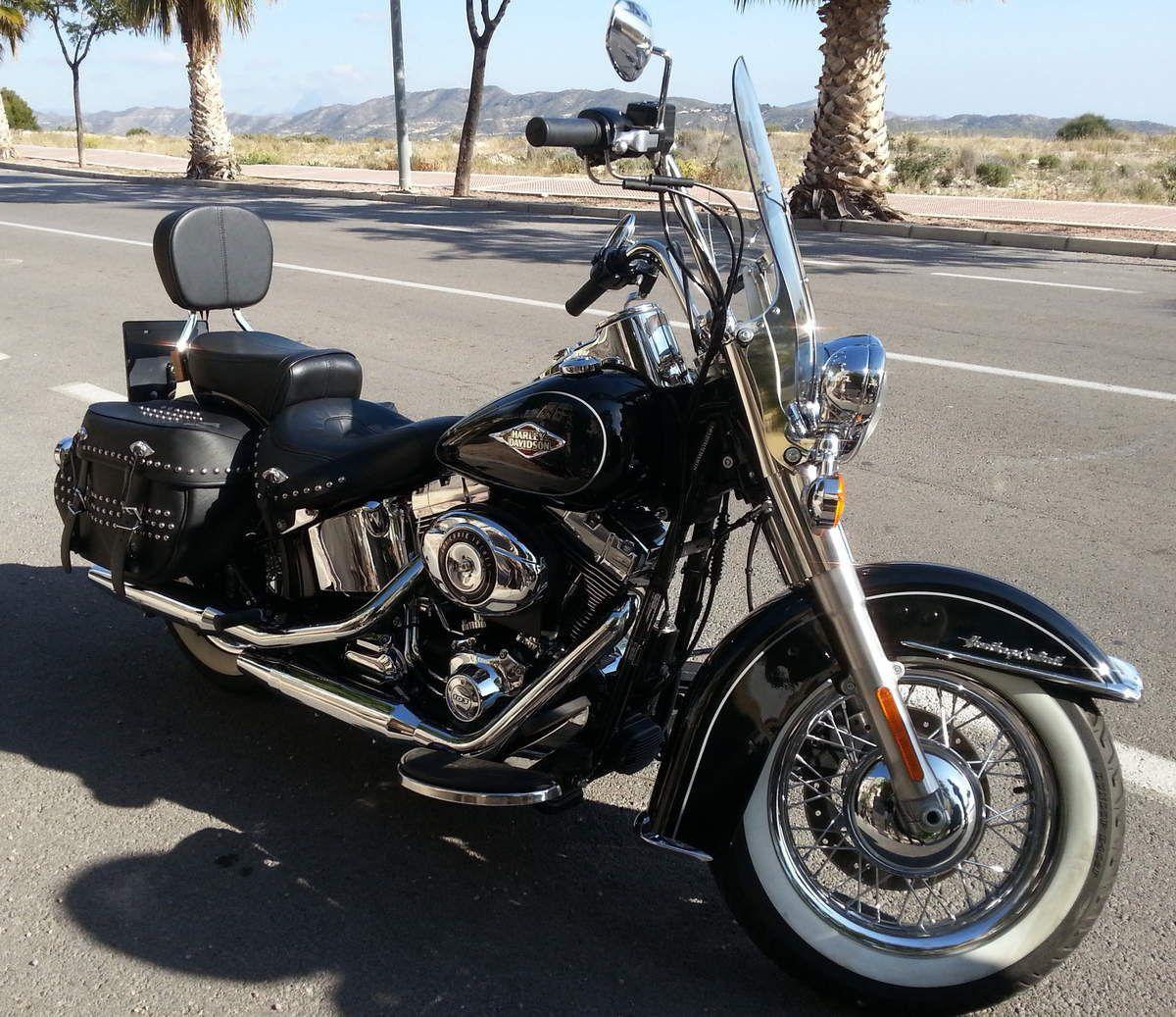 Capitaine Driver en Harley Davidson