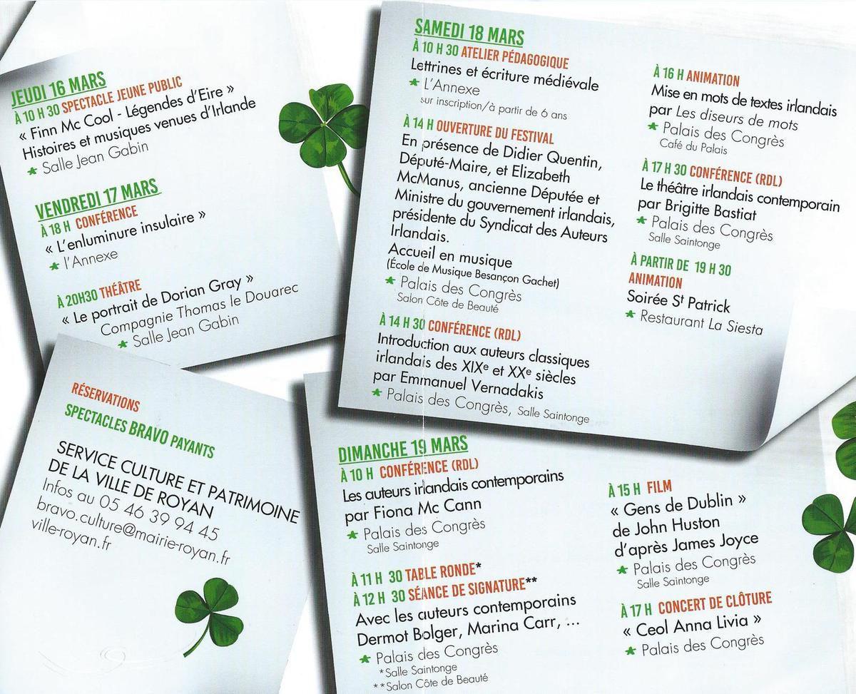 Vent d'Irlande, avec des G2S