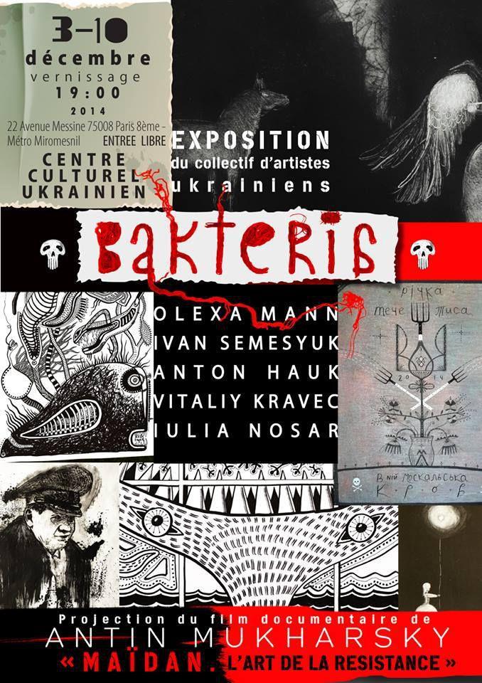 affiche de l'exposition Bakteria
