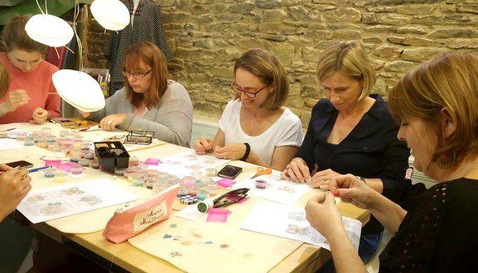 Retour en image sur l'atelier Rose Moustache ...
