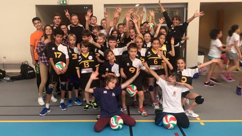 Résultats plateau M11 Villebon Volley