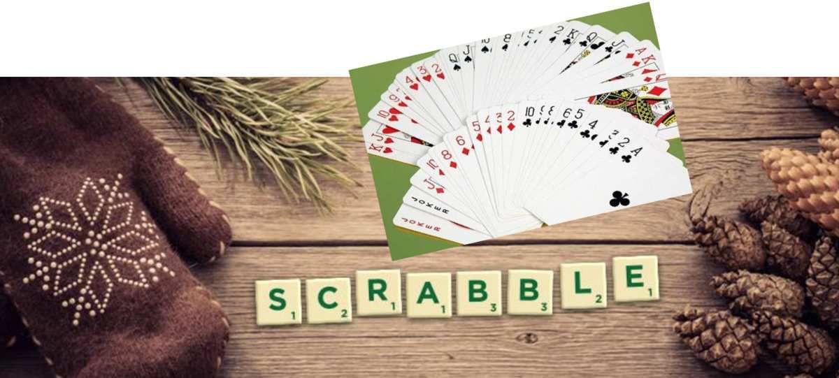 NOUVEAU - cartes, scrabble, et autres jeux de société