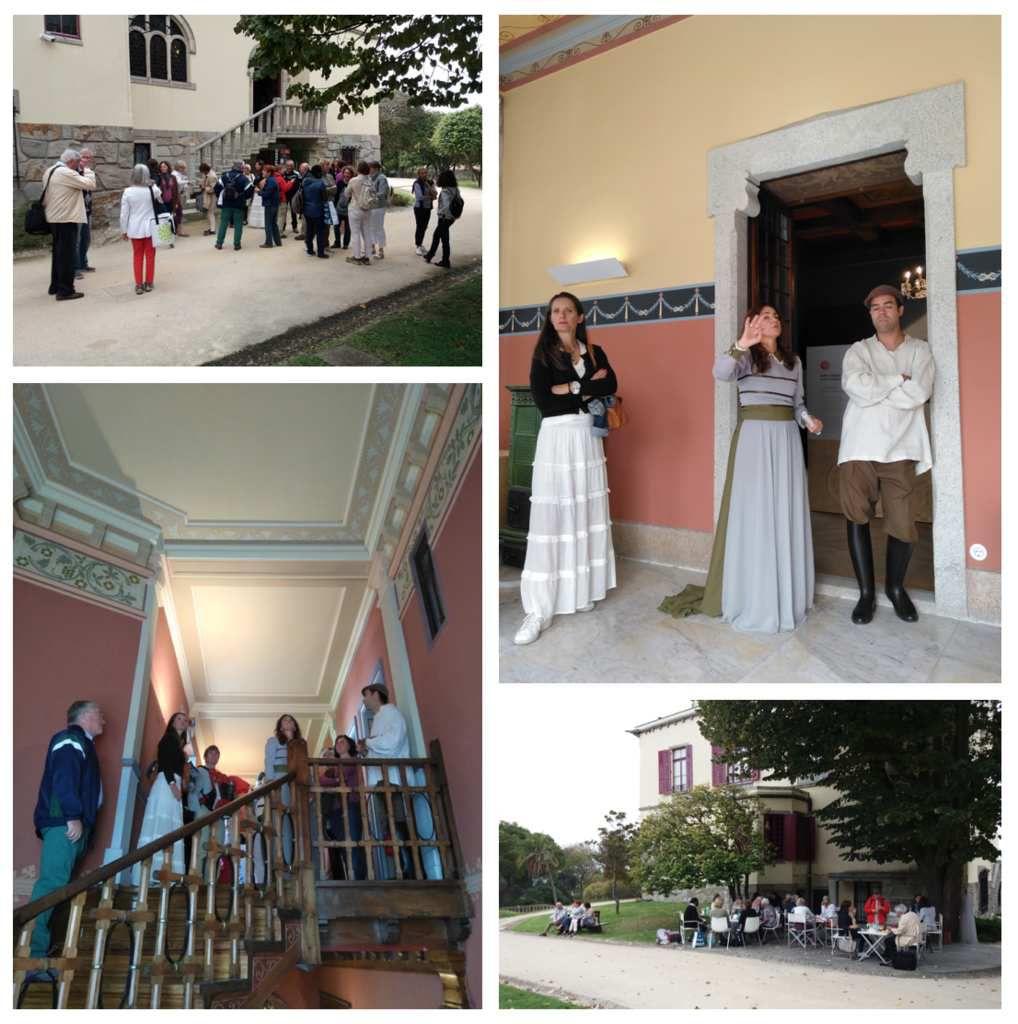 Visite de la Quinta de Santiago, Leça da Palmeira