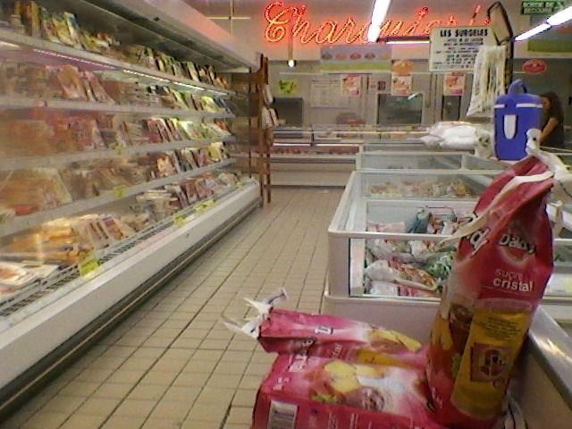 Scène vécue au supermarché...