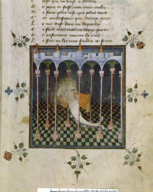 Page d'enluminures