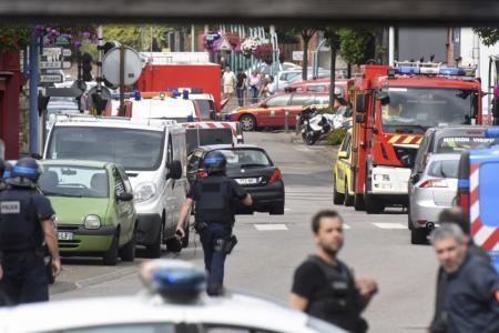 Une nouvelle cible des terroristes : une église attaquée par des islamistes
