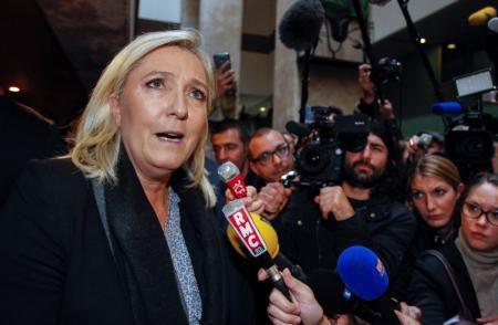 La nouvelle photo de campagne de Marine Le Pen...