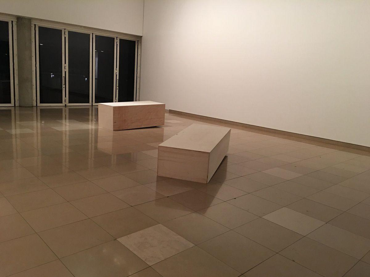 Ma nuit des Musées : le Carré d'Art à Nîmes...