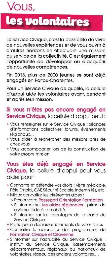 Service civique pour les jeunes de 16 à 25 ans