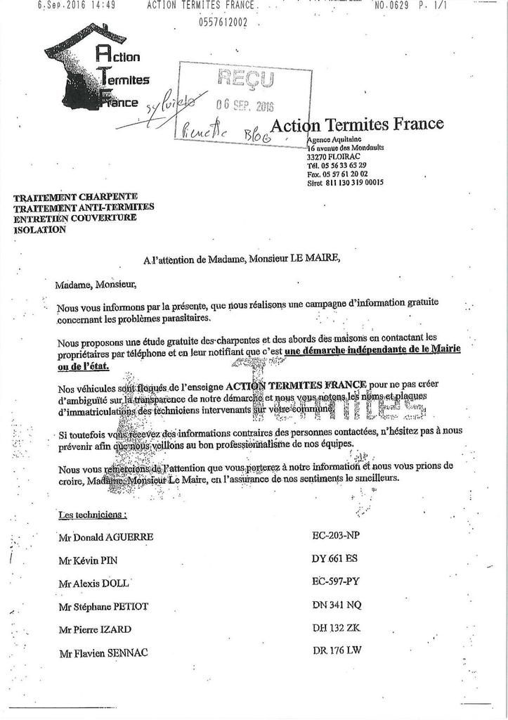 ACTION TERMITES FRANCE