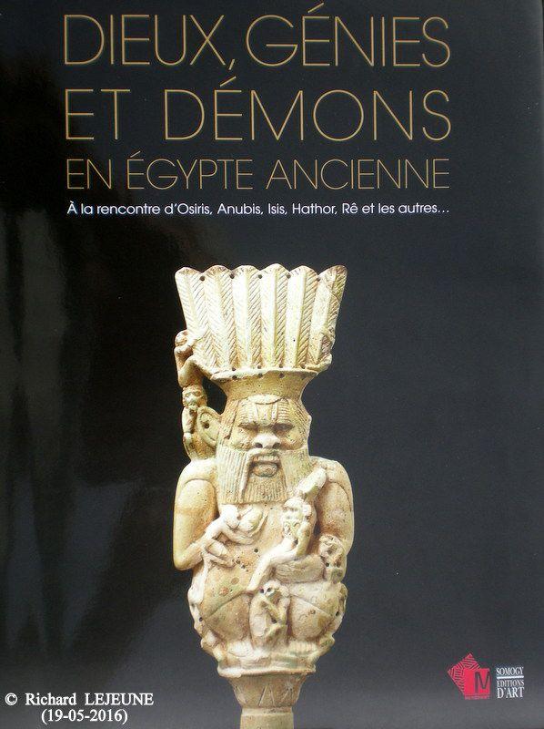 EXPOSITIONS Á MARIEMONT : 4. DIEUX, GÉNIES, DÉMONS EN ÉGYPTE ANCIENNE : ISIS
