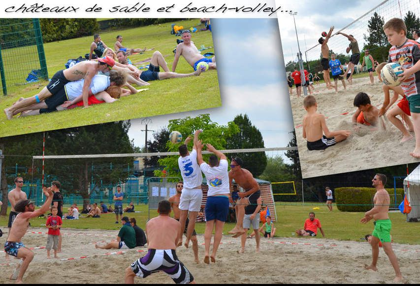 Tournoi de beach volley avec le cos volley ball sarralbe for Piscine sarralbe