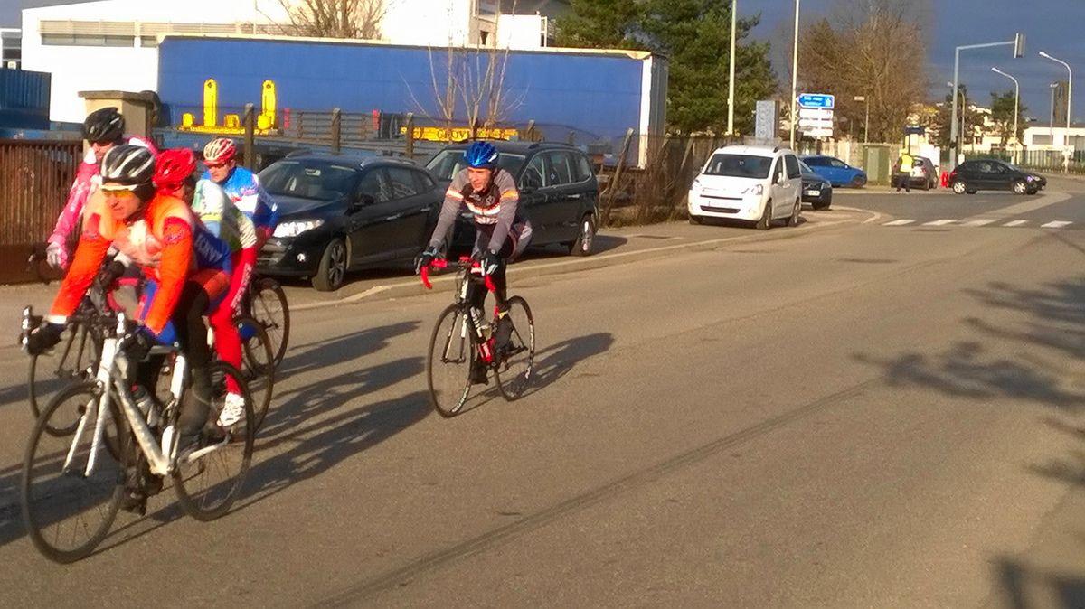 Course 4ème catégorie, José et Jean-Paul