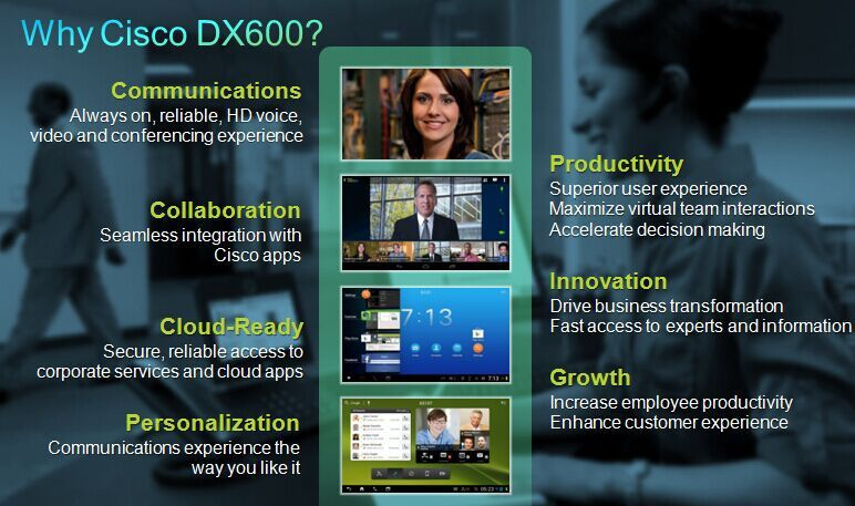 Why Cisco DX600?