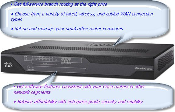 Cisco 800 Series Integrated Services Routers--Benefits