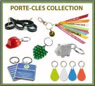 Porte-clés publicitaires en plastique, pneu recyclé, bois, métal