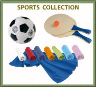 Objets publicitaires - collection sports
