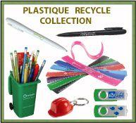 Produits publicitaires en plastique recyclé