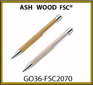 STYLO BOIS ASH WOOD Label FSC