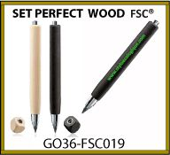 porte mines PERFECT WOOD certifié FSC® - GO36-FSC019