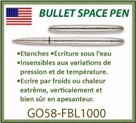 Stylo Space bullet fisher pen