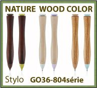 Stylo NATURE WOOD COLOR luxe cadeau d affaires - GO36-804serie
