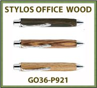 Stylo OFFICE WOOD luxe cadeau d affaires - GO36-P921