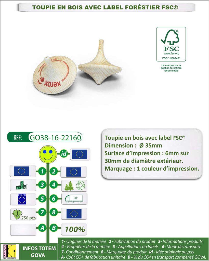 Produits GOVA Distribution certifiés FSC®