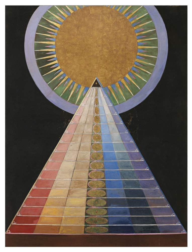 Hilma af Klint, Altarpiece, No. 1, Group X, Altarpieces,