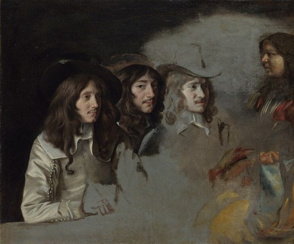 Louis et Mathieu Le Nain, Triple Portrait, vers 1646-1648 © National Gallery, Londres