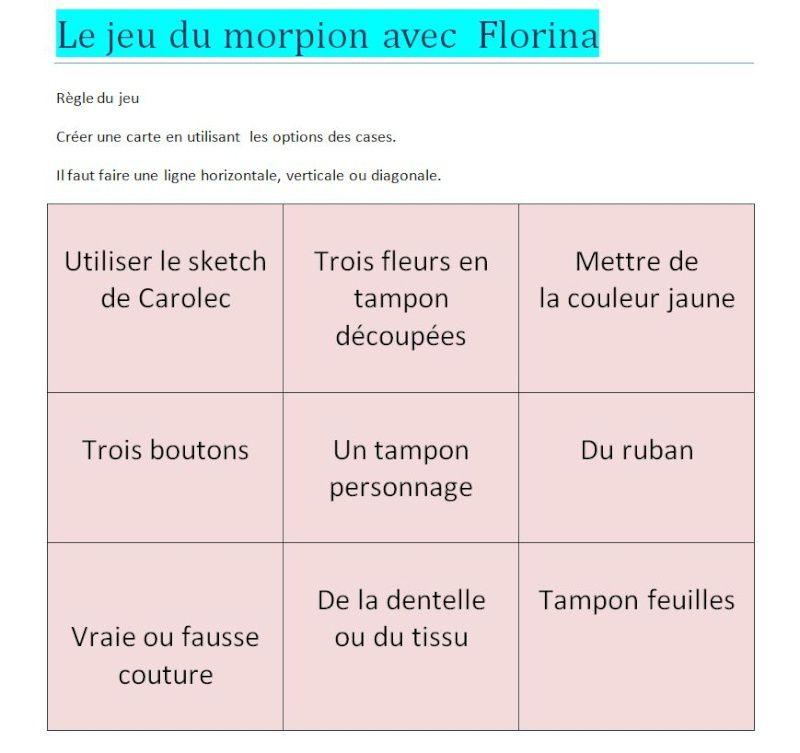 LA COMPAGNIE DES ELFES : MORPION DE FLORINA