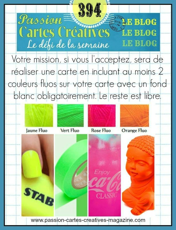 CHALLENGE PASSION CARTES CREATIVES 394