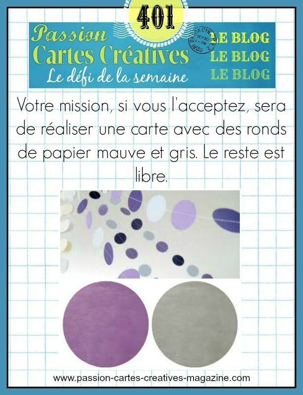 CHALLENGE PASSION CARTES CREATIVES 401
