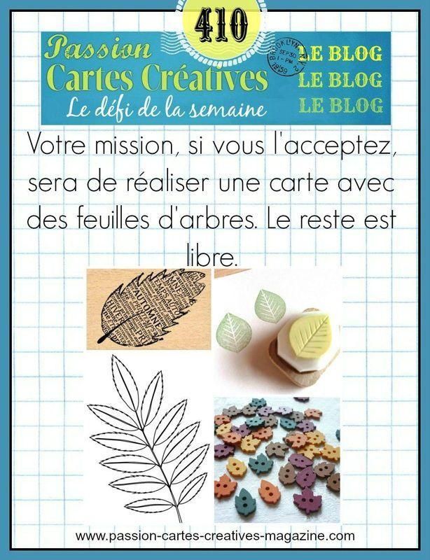 CHALLENGE PASSION CARTES CREATIVE 410