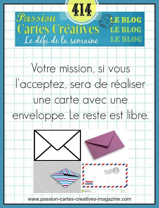 CHALLENGE PASSIONS CARTES CREATIVES 414
