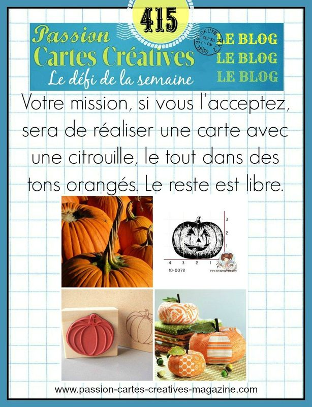 CHALLENGE PASSIONS CARTES CREATIVES 415