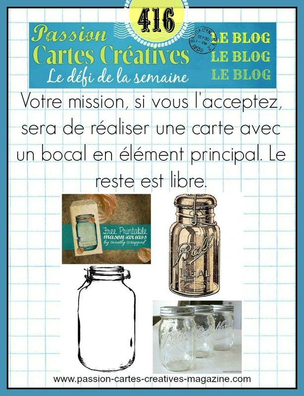 CHALLENGE PASSIONS CARTES CREATIVES 416