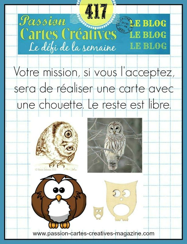 CHALLENGE PASSIONS CARTES CREATIVES 417