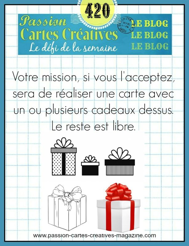 CHALLENGE PASSIONS CARTES CREATIVES 420