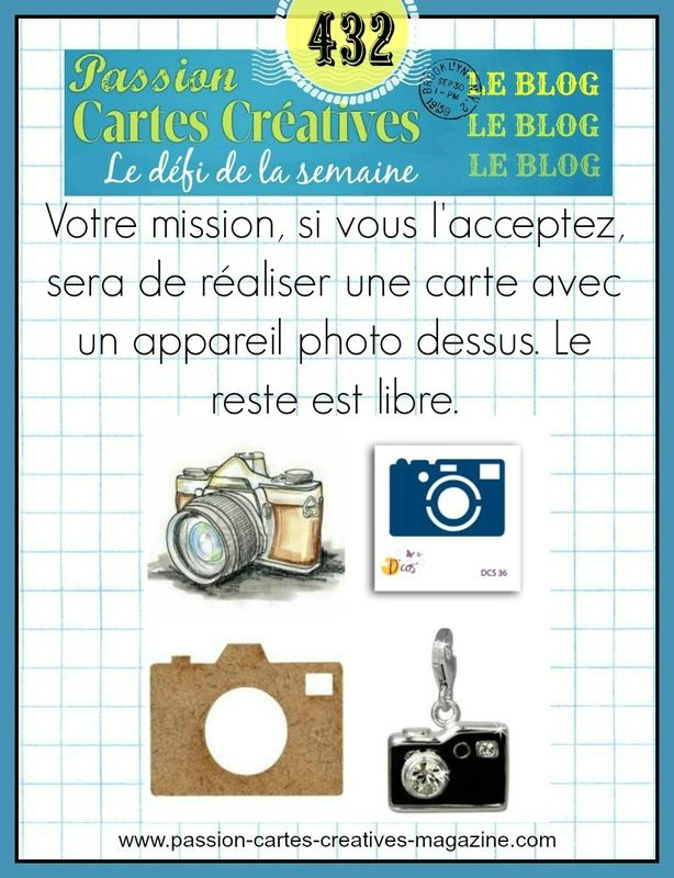 CHALLENGE PASSIONS CARTES CREATIVES 432