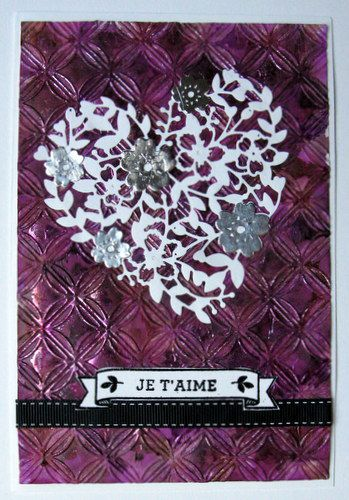 STAMPIN'UP éclosion d'amour