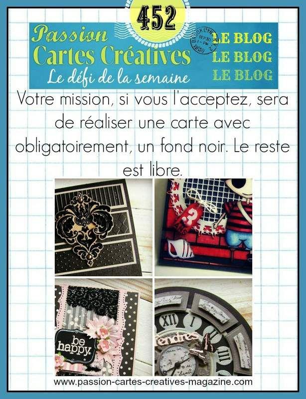 DEFI 452 DE PASSION CARTES CREATIVES