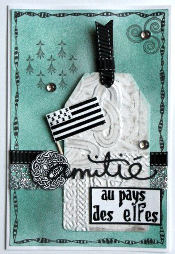 Scrap Ty Fingers carte bretonne