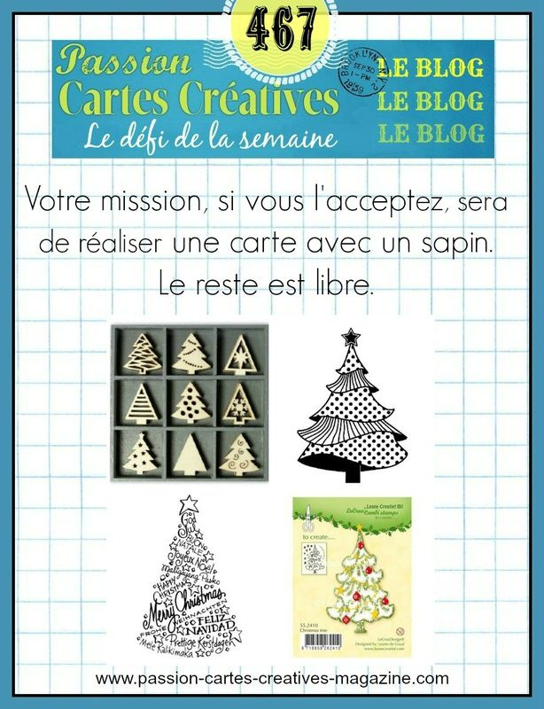 DEFI 467 DE PASSION CARTES CREATIVES